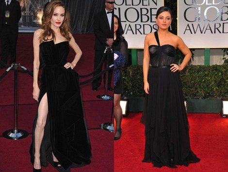 Angelina Jolie y Mila Kunis
