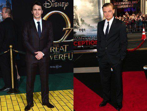 James Franco y Leonardo DiCaprio