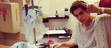 Ausin Mahone en el hospital / Foto: Instagram