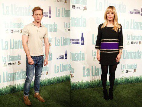 María Adánez y Pablo Rivero en el estreno de 'Última llamada'