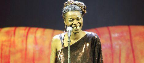 Concha Buika cantando en la gala Help