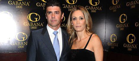 Cristina Sánchez junto a su marido