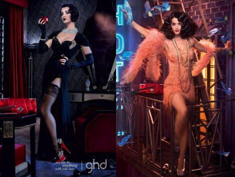 Katy Perry, una blancanieves moderna para GHD