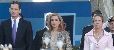 Los Duques de Palma y la Infanta Elena
