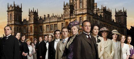 Reparto de la serie británica Downton Abbey