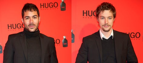 David Seijo y Jan Cornet en la fiesta de Hugo Boss