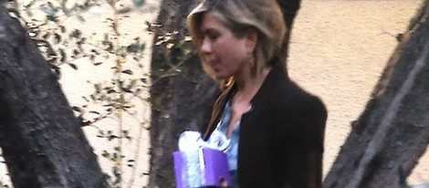 Jennifer Aniston no quiso perderse el Baby Shower