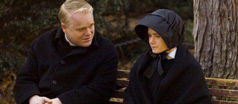 Fotograma de 'La duda', con Philip Seymour Hoffman y Amy Adams