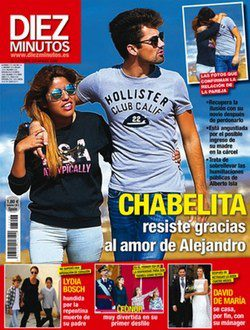 Chabelita y su novio Alejandro