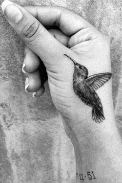 Tatuaje de Zelda Williams