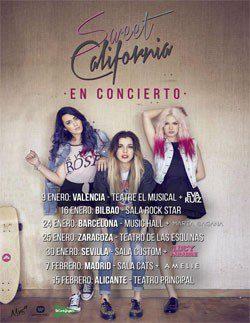 Sweet California contará con Eva Ruiz, María Sagana, Lucy Paradise y Amelie en su nueva gira