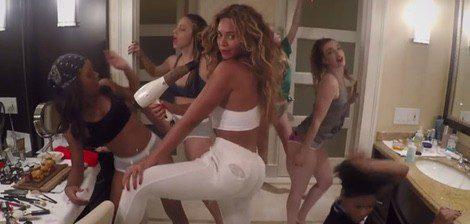 Beyoncé en su videoclip 'casero' 7/11