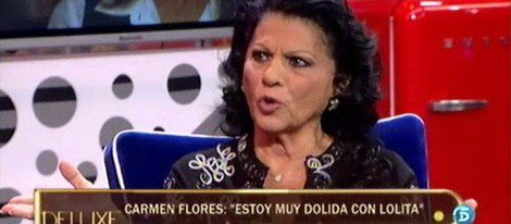 Carmen Flores afirma que se siente dolida con sus sobrinas