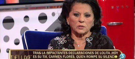 Carmen Flores explica la relación que tiene con su sobrina Lolita en 'Sálvame Deluxe'