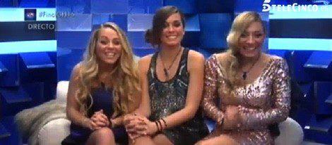 Yolanda, Alejandra y Paula en la final de 'Gran Hermano 15' | Telecinco.es