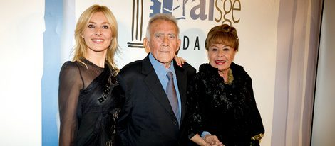 Cayetana Guillén Cuervo, Fernando Guillén y Gemma Cuervo