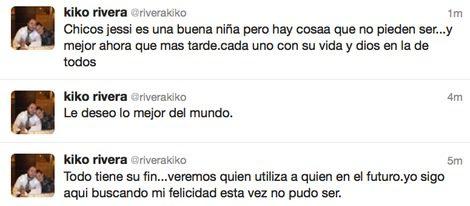 Kiko Rivera confirma la ruptura con Jessica Bueno: