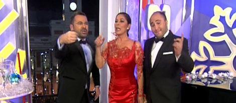 Jorge Javier Vázquez, Isabel Pantoja y Kiko Rivera dan las Campanadas 2011 de Telecinco