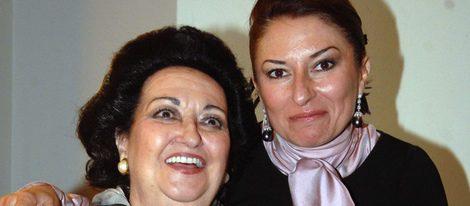 Montserrat Caballé y Montserrat Martí