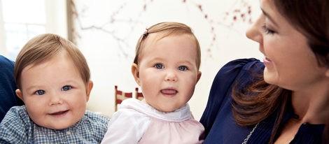 Los Príncipes Vicente y Josefina de Dinamarca celebran su primer año en familia