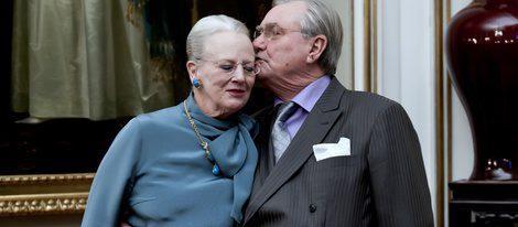 La Reina Margarita y el Principe Enrique de Dinamarca