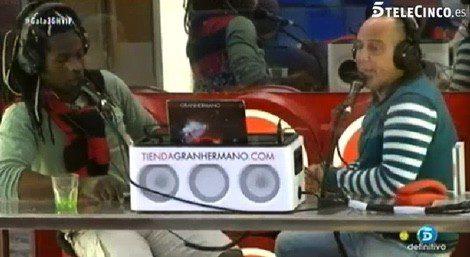 Coman y Víctor Sandoval en la radio / Telecinco.es