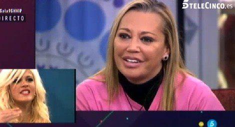 Ylenia despidiéndose de Belén Esteban / Telecinco.es