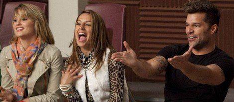 Ricky Martin en el capítulo de Glee 'The Spanish Teacher' Foto:FOX