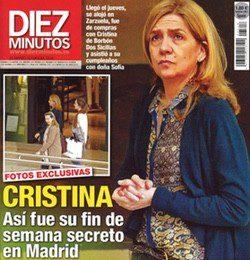 La Infanta Cristina en Diez Minutos
