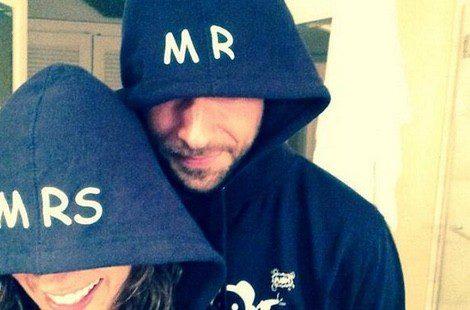 La foto con la que Zachary Levi y Missy Peregrym anunciaron su matrimonio