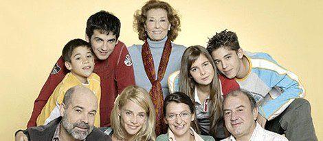 Protagonistas de la serie 'Los Serrano'