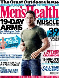 Chris Pratt protagoniza la última portada de Men's Health