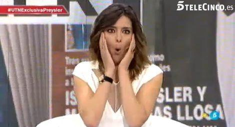 El gracioso lapsus de Sandra Barneda en 'Un tiempo nuevo' / Telecinco.es