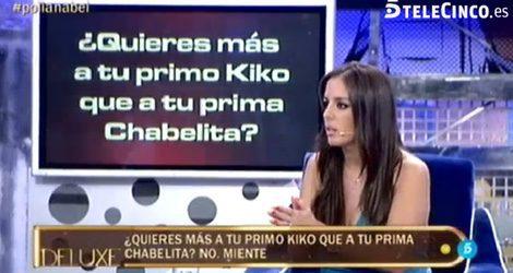 Anabel Pantoja quiere más a Kiko que a Chabelita / Telecinco.es