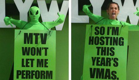 Miley Cyrus anuncia que será la presentadora de los MTV VMA 2015 | Twitter