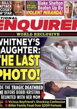 National Enquirer publica el cuerpo sin vida de Bobbi Kristina