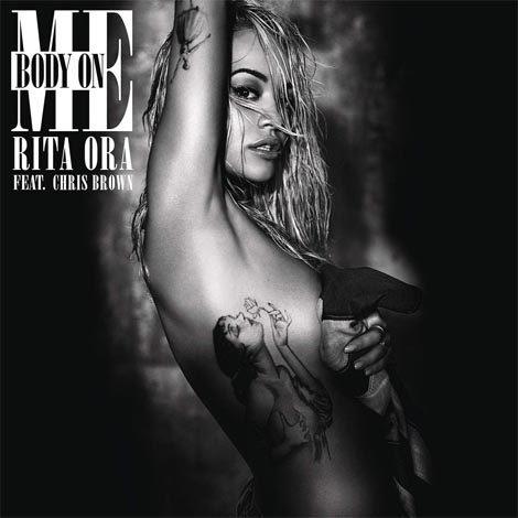 Desnudo de Rita Ora para la portada de 'Body On Me' feat. Chris Brown