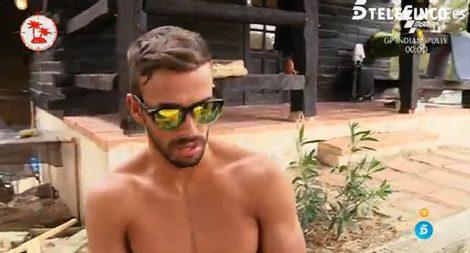 Cristian en 'Pasaporte a la isla' / Telecinco.es