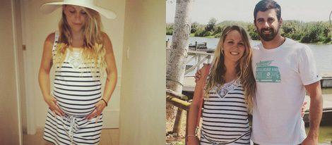 Yoli de 'GH 15' presume de embarazo con un vestido premamá