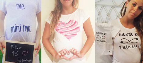 Las originales camisetas premamá de Yolanda Claramonte