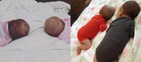 Zoe Madison y Blake Everleigh, las gemelas de Kevin Zegers y Jaime Feld