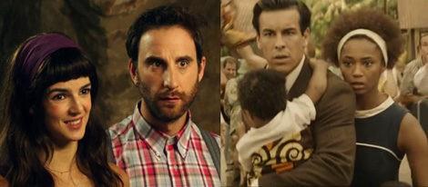Lago y Rovira, Casas y Vázquez, amor dentro y fuera de la pantalla