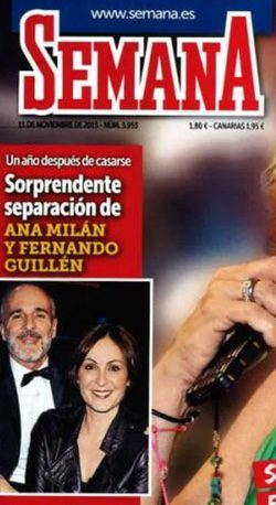 Ana Milán y Guillén Cuervo en Semana