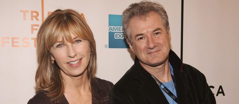 Karen Montgomery junto a su marido