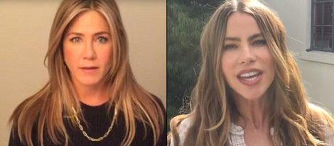 Jennifer Aniston y Sofía Vergara apoyan a Obama
