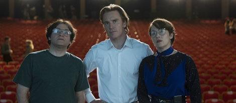 Michael Fassbender y Kate Winslet en 'Steve Jobs'