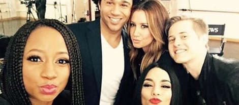 Vanessa Hudgens, Ashley Tisdale, Lucas Grabeel, Corbin Bleu y Monique Coleman | Foto: Instagram