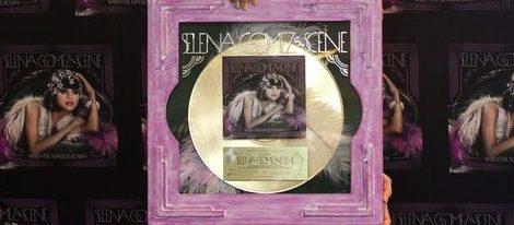 Selena Gomez recibe un nuevo Disco de Oro y comienza gira por Latinoamérica