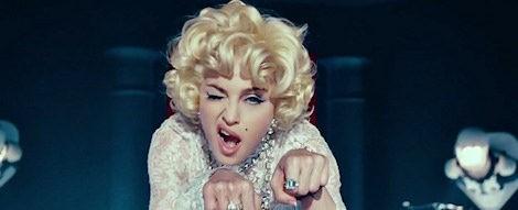 Madonna a lo Marilyn Monroe