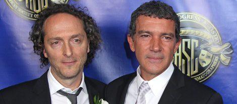 Emmanuel Luberzki y Antonio Banderas